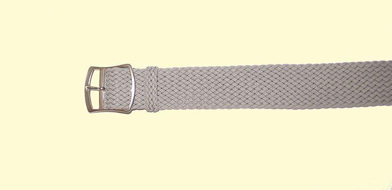 Armband für Notrufsender 18mm breit Farbe Grau