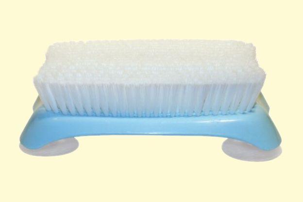 duschb rste mit saugn pfen seniola seniorenbedarf und